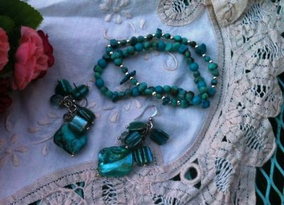 Pretty Turquoise Colored Jewelry