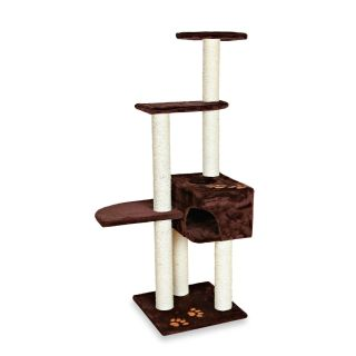 Trixie Pet Products Alicante Cat Tree in Chocolate 2575