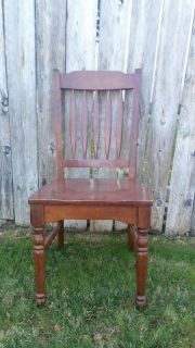 Wood chair- sturdy/ refinishing project