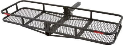 Sell NEW 60x20 FOLDING CARGO CARRIER LUGGAGE RACK BASKET-HITCH HAULER (CCB-F6020-DLX) motorcycle in West Bend, Wisconsin, US, for US $139.99
