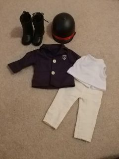 Doll Horse Riding outfit