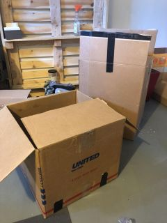 ISO:moving boxes or newspaper