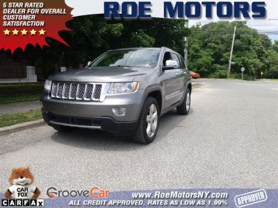 2011 Jeep Grand Cherokee Overland (Mineral Gray Metallic)