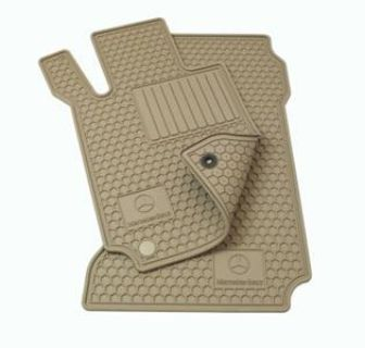Sell Genuine OEM Mercedes Benz GLK-Class Beige All Weather Floor Mats motorcycle in Maitland, Florida, US, for US $94.00