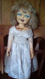 Older Bride of chucky Tiffany doll