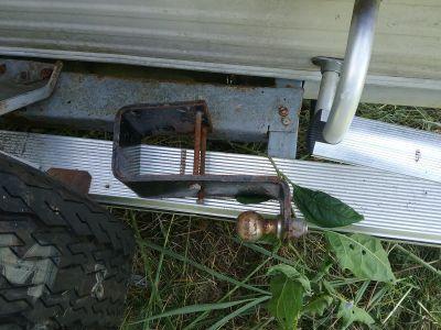 RV trailer hitch
