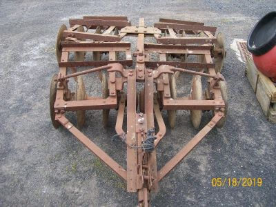Farmall Cub 23A Tandem Disc Harrows