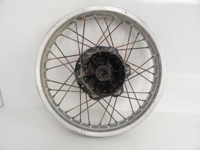 Sell 77 Yamaha TT 500 used Rear Wheel Rim Spokes Hub motorcycle in Chippewa Lake, Ohio, US, for US $74.95