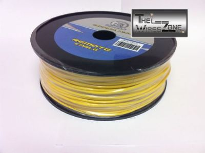 Buy New Bullz Audio BPR18-400YL 18 Gauge 400' Feet Primary Remote Wire Cable Yellow motorcycle in Los Angeles, California, United States, for US $24.95