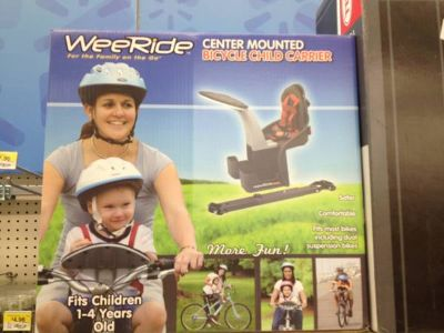 Babykid WeeRide bicycle child carrier