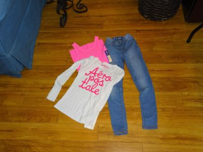 Aeropostale Old Navy Jeggings Girl Outfit Set 12