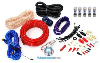 Sell pkg 5 FUSES & 4 GAUGE COMPLETE AMP INSTALL CORD RCA KIT AMPLIFIER CABLE WIRE motorcycle in Los Angeles, California, United States, for US $39.99