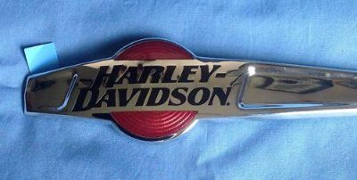 Sell Harley Davidson OEM Chrome Gas Tank Emblems motorcycle in Kingsville, Missouri, US, for US $74.99