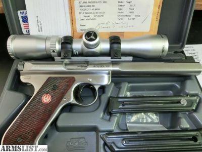 For Sale: Ruger Mark 3 target 22