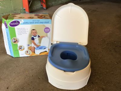 Potty Seat & Step Stool