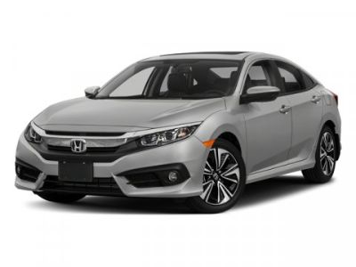 2018 Honda Civic EX-L (AEGEAN BLUE METALLIC)