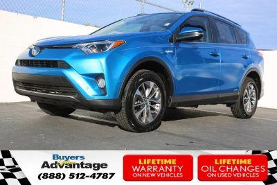 2018 Toyota RAV4 Hybrid XLE (ELEC STORM BLUE)