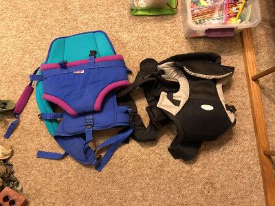 Two more baby backpacks $5.00 each