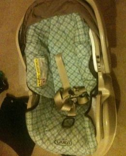 a Graco Baby Carseat, 0-2 years old.