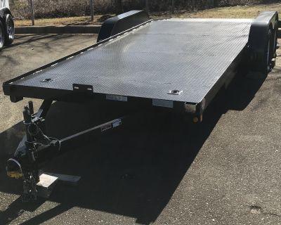 2019 Other Steel Floor Car Hauler 2 3500lbs Axels / Ramps