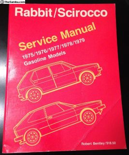 Rabbit/Scirocco Service Manual