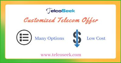 Customized telecom offer available @ TelcoSeek