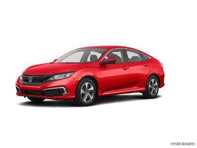 2019 Honda Civic 2.0 L4 LX CVT (Rallye Red)