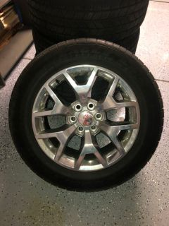 4 Goodyear Eagle LS2 Tires and GMC Rims