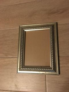 Pewter Colored Picture Frame 5 by 7