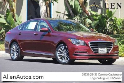 2015 Hyundai Genesis 3.8L (Pamplona Red)