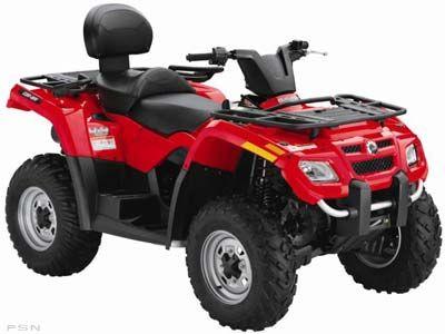 2009 Can-Am Outlander MAX 400 EFI Utility ATVs Keokuk, IA