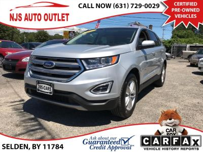 2017 Ford Edge SEL AWD (Ingot Silver Metallic)