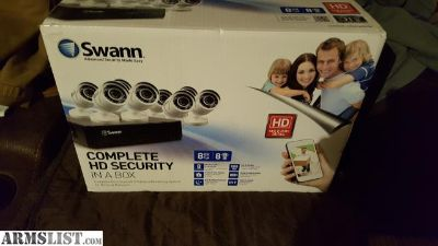 For Sale/Trade: Complete Swann HD Security In A Box