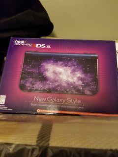 New nintendo 3dsxl galaxy style