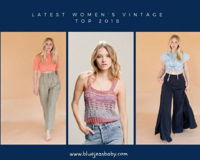Latest Vintage Women's Tops Collection at Blue Jean Baby