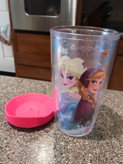 Frozen Tervis and lid