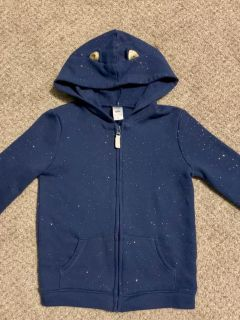 Nwot Carter s sparkly cat-ear hoodie