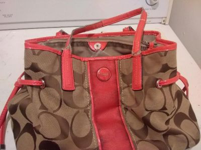 Coach purse moving sell