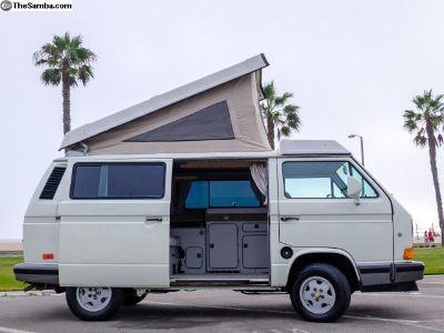 1990 Volkswagon Vanagon Westfalia Camper Van