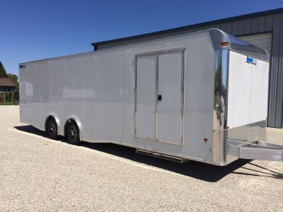 2019 28' Aluminum Race Trailer