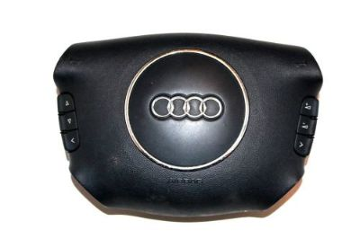 Find 2002-2003 AUDI A6 4 SPOKE DRIVER SIDE WHEEL AIRBAG ORIGINAL OEM BLACK STOCK motorcycle in Beaverton, Oregon, United States, for US $59.99