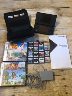 Nintendo DS with 20 games charger manual and case $50