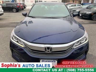 2016 Honda ACCORD SEDAN 4dr I4 CVT Sport (Obsidian Blue Pearl)