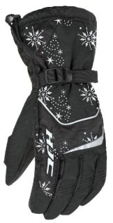 Purchase HJC Storm Black Small Womens Snowmobile Waterproof Gloves Snow Sled New Sml Sm motorcycle in Ashton, Illinois, US, for US $45.49