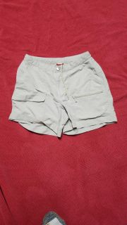 North face hiking shorts worn 1 time small 7.00