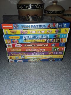 Kids 9 dvd movies all like new excellent condition all for $20