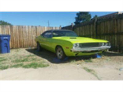 Parts For Sale: 1970 Dodge Challenger SE
