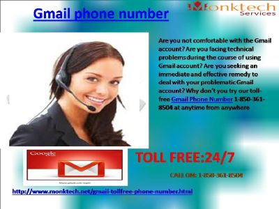 Gmail Phone Number: A quick Support for Today 1-850-361-8504