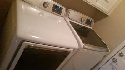 $1,300, top of the line washer and dryer