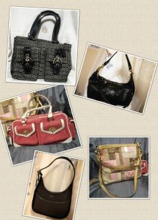 Coach Lot 5 bags for $150 + 1 FREE Vintage Swingback!
